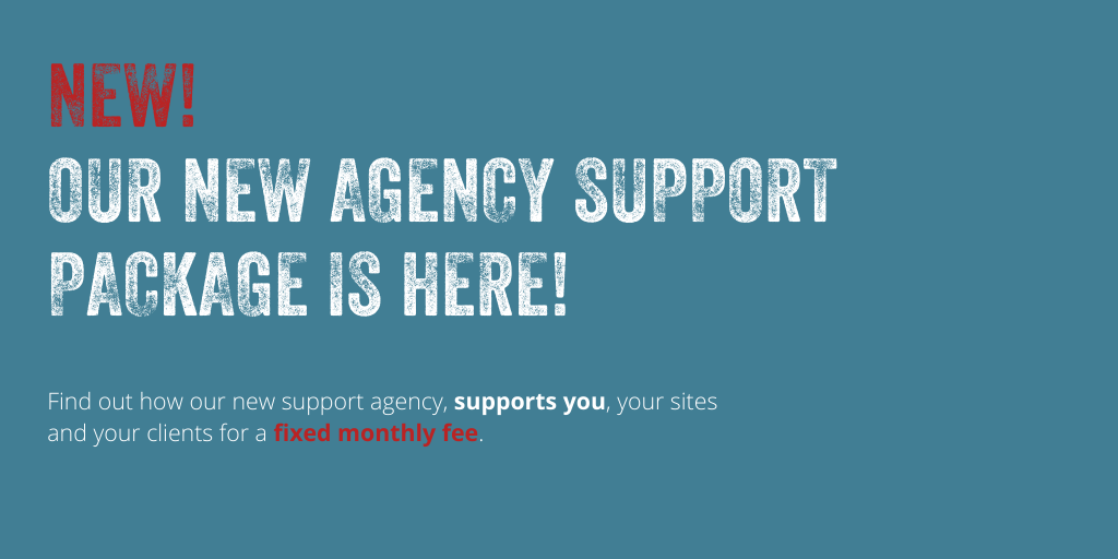 Our New WordPress Agency Support Package is here!